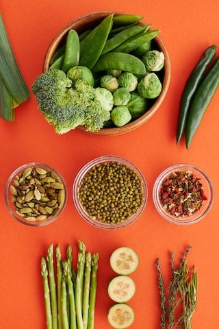 Gemüse abwechseln