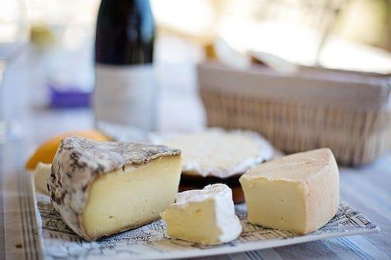 Käse-Auswahl genial bei Gicht
