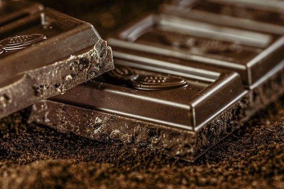 Schokolade mit viel Kakao